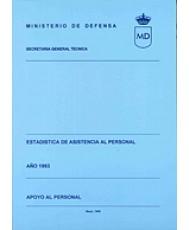 ESTADÍSTICA DE ASISTENCIA AL PERSONAL. APOYO AL PERSONAL 1993