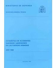 ESTADÍSTICA DE ACCIDENTES, SUICIDIOS Y AGRESIONES EN LAS FUERZAS ARMADAS 1998