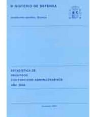 ESTADÍSTICA DE RECURSOS CONTENCIOSO-ADMINISTRATIVOS 1998