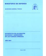 ESTADÍSTICA DE ACCIDENTES, SUICIDIOS Y AGRESIONES EN LAS FUERZAS ARMADAS 2001