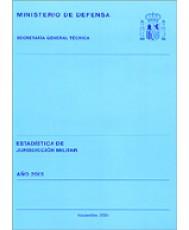 ESTADÍSTICA DE JURISDICCIÓN MILITAR 2003