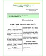 BOLETÍN EPIDEMIOLÓGICO DE LAS FUERZAS ARMADAS VOL. 21 Nº 252 OCTUBRE 2014