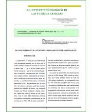 BOLETÍN EPIDEMIOLÓGICO DE LAS FUERZAS ARMADAS VOL. 21 Nº 253 NOVIEMBRE 2014