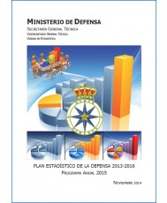 PLAN ESTADÍSTICO DE LA DEFENSA 2013-2016: PROGRAMA ANUAL 2015