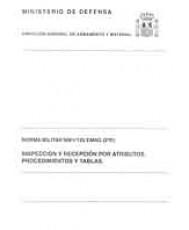 INSPECCIÓN Y RECEPCIÓN POR ATRIBUTOS, PROCEDIMIENTOS Y TABLAS: NORMA MILITAR NM-I-125 EMAG (2º R)