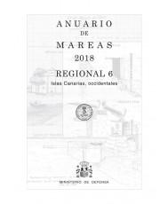 ANUARIO DE MAREAS REGIONAL 6. CANARIAS OCCIDENTALES. 2018