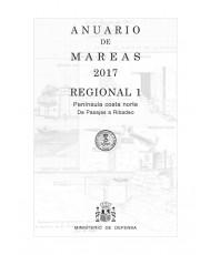 ANUARIO DE MAREAS REGIONAL 1. PENÍNSULA COSTA NORTE. DE PASAJES A RIBADEO. 2017