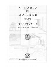 ANUARIO DE MAREAS REGIONAL 5. ISLAS CANARIAS, ORIENTALES. 2019