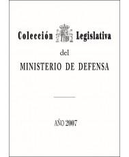 COLECCIÓN LEGISLATIVA DEL MINISTERIO DE DEFENSA. AÑO 2007 (ÍNDICE ALFABÉTICO)