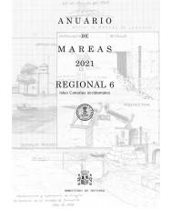 Anuario de mareas regional 6. Islas Canarias occidentales. 2021