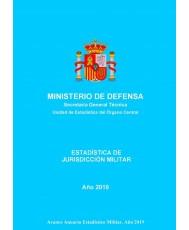 Estadística de Jurisdicción Militar 2019