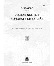 DERROTERO DE LAS COSTAS NORTE Y NOROESTE DE ESPAÑA. Núm. 2. 4ª EDICIÓN 2019