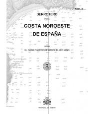 DERROTERO DE LA COSTA NOROESTE DE ESPAÑA. Núm. 3. 4ª EDICIÓN 2019
