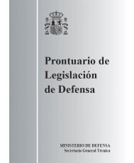 PRONTUARIO DE LEGISLACIÓN DE DEFENSA