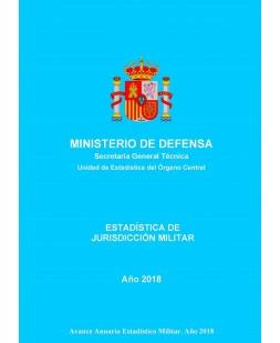 ESTADÍSTICA DE JURISDICCIÓN MILITAR 2018