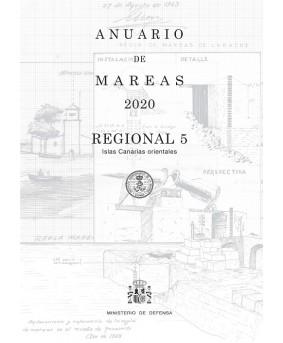 ANUARIO DE MAREAS REGIONAL 5. ISLAS CANARIAS ORIENTALES. 2020