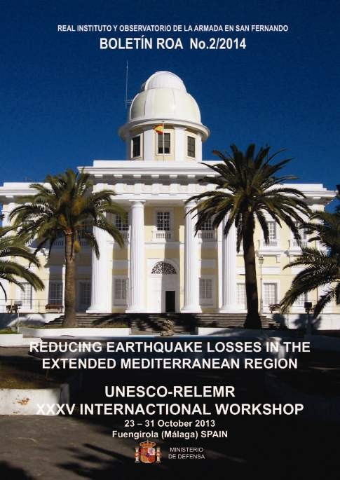 Reducing earthquake losses in the extended mediterranean region 2/2014
