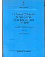 LA NUEVA POBLACIÓN DE SAN CARLOS EN LA ISLA DE LEÓN (1774-1806)
