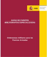 ORDENANZAS MILITARES PARA LAS FUERZAS ARMADAS