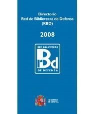 DIRECTORIO RED DE BIBLIOTECAS DE DEFENSA (RBD) 2008