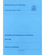 ESTADÍSTICA DE ASISTENCIA AL PERSONAL. APOYO AL PERSONAL 1998