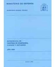 ESTADÍSTICA DE CENTROS DE ENSEÑANZA, CURSOS Y ESTUDIOS 1999