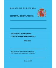 ESTADÍSTICA DE RECURSOS CONTENCIOSO-ADMINISTRATIVOS 2006