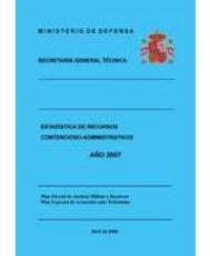 ESTADÍSTICA DE RECURSOS CONTENCIOSO-ADMINISTRATIVOS 2007