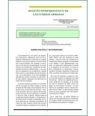 BOLETÍN EPIDEMIOLÓGICO DE LAS FUERZAS ARMADAS VOL. 21 Nº 243 ENERO 2014