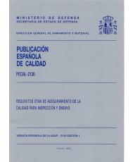 PECAL 2130. REQUISITOS OTAN DE ASEGURAMIENTO DE LA CALIDAD PARA INSPECCIÓN Y ENSAYO