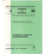 FACTORES DE LA ESTRUCTURA DE SEGURIDAD EUROPEA