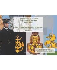 UNIFORMES DE LA ARMADA. TRES SIGLOS DE HISTORIA (1700-2000). CUERPO DE ARTILLERIA DE MARINA, DE INGENIEROS, HIDRAULICOS, ASTRÓNOMOS, CUERPO DE MAQUINISTAS Y MÁQUINAS. VOL. IV