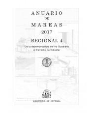 ANUARIO DE MAREAS REGIONAL 4. DE LA DESEMBOCADURA DEL RÍO GUADIANA A LA BAHÍA DE ALGECIRAS. 2017