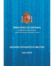Anuario estadístico militar. Año 2018