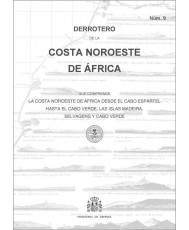 Derrotero de la costa noroeste de África. Núm. 9. 4ª Ed., 1ª Reimp. 2020