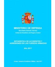 ESTADÍSTICA DE ACCIDENTES Y AGRESIONES EN LAS FUERZAS ARMADAS 2017