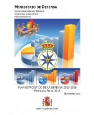 PLAN ESTADÍSTICO DE LA DEFENSA 2013-2016: PROGRAMA ANUAL 2016