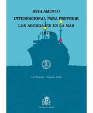 Reglamento internacional para prevenir los abordajes en la mar (1972). 14ª ed., 4ª reimp. = International regulations for preventing collisions at sea (1972). 14ª ed., 4ª reimp