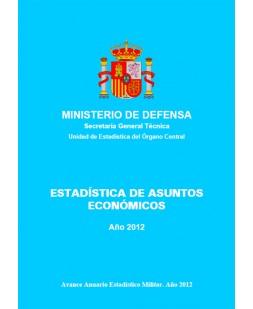 ESTADÍSTICA DE ASUNTOS ECONÓMICOS 2012