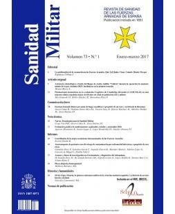 SANIDAD MILITAR. REVISTA DE SANIDAD DE LAS FUERZAS ARMADAS DE ESPAÑA