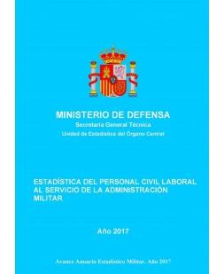 ESTADÍSTICA DE PERSONAL CIVIL LABORAL AL SERVICIO DE LA ADMINISTRACIÓN MILITAR 2017